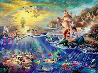 Ceaco Thomas Kinkade The Disney Dreams Collection The Little Mermaid 750 pc.