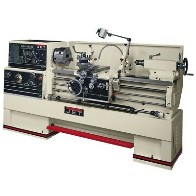 """JET 321910 GH-1440ZX, 3-1/8"""" Spindle Bore Geared Head Lathe"""