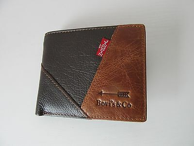 Bovi's & Co Leather wallet In Gift Box