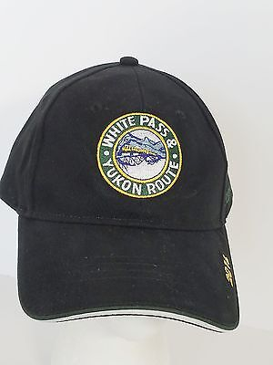 White Pass and Yukon Route Skagway Alaska 2016 Train Ball Cap Hat Embroidered