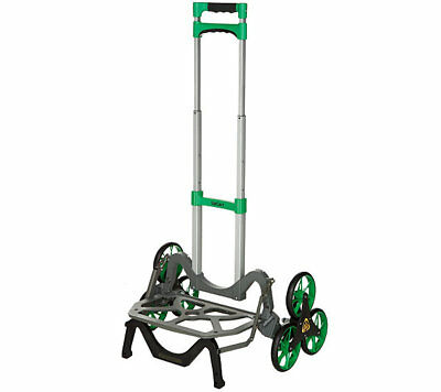 Green UpCart All-Terrain Stair Climbing Folding Up Cart Moves upto 100-pounds