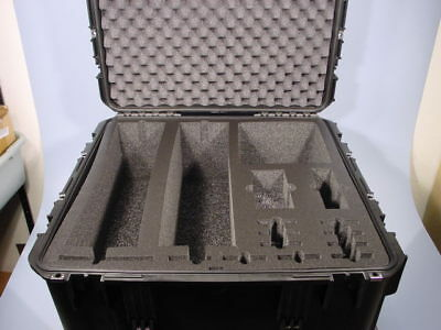 "SKB iSeries 31-2424-14BE Waterproof Case 34"" x 24"" x 12"" Special Cut See PIX!"