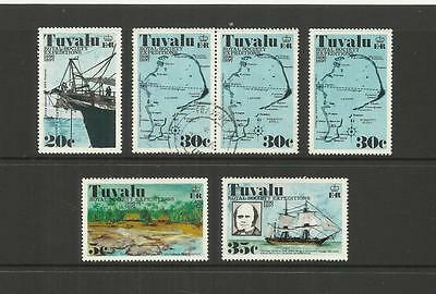 Tuvalu (Ellice Islands) ~ 1977 Royal Society Expeditions (Mint Set)