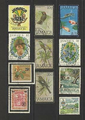 Jamaica ~ Small Mid Modern Postally Used Collection