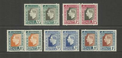 Rsa South Africa ~ 1937 Coronation King George V (Mint Mh)