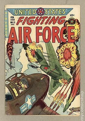 United States Fighting Air Force (1952 Canada) #21 VG 4.0