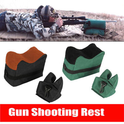 Portable Hunting Shooting Front Rear Bench Rest Bag Unfilled Target Stand Bag