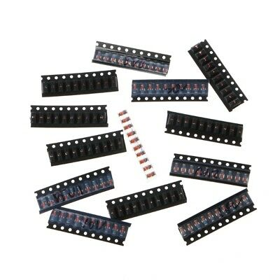 130 Pcs LL41 1W 3V3-36V 13 Values SMD Zener Diode Package Kit Assortment Set