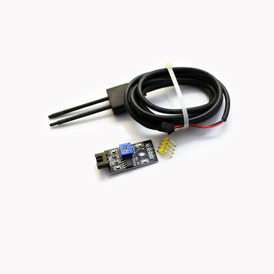 Soil Humidity Hygrometer Moisture Detection Sensor Module with Wire for Arduino