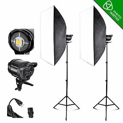 PRO 60W Photography LED Sun Light Photo Studio Video Continuous Softbox Kit
