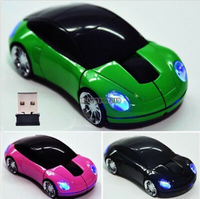 Creative Car Shaped 2.4G Wireless Optical Mouse 1000 DPI Mini Mice For PC Laptop