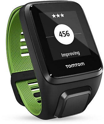TomTom Runner 3 HR Music GPS Watch with Large Strap