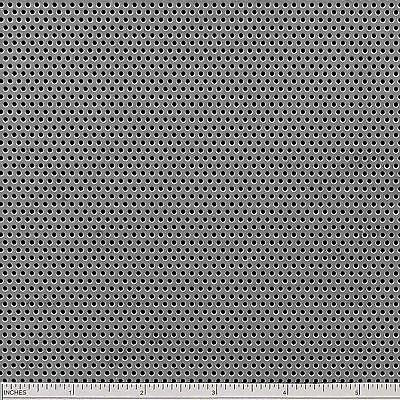 "Steel Perforated Sheet .036"" (20 ga.) x 12"" x 24"" - 1/16 Holes - 1/8 Centers"