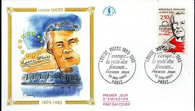 2809+ FDC  ENVELOPPE 1er JOUR CEF LOUISE  WEISS