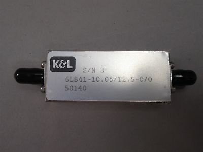 K & L 6LB41-10.05/T2.5-0/0 Band Pass Filter NEW