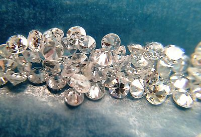 0,248 cts total lot of 10 loose natural diamonds E-F-G VS-SI-I 1,80-1,90 MM