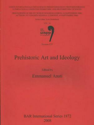 Prehistoric Art and Ideology by Emmanuel Anati (English) Paperback Book Free Shi