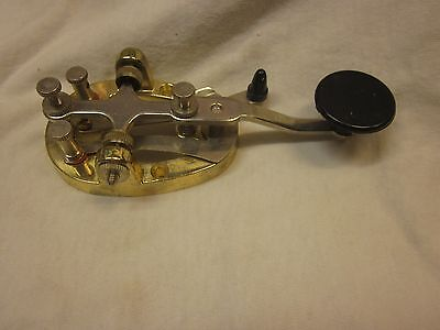 Brass-Looking Telegraph Key From Japan