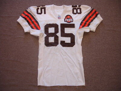 1999 Kevin Johnson Game Worn #85 Cleveland Browns Jersey