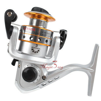 Ultralight Spinning Reel Rock Ice Fishing Small Size 500 5.1:1 Bass Trout Carp