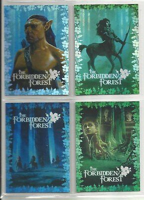2007 Harry Potter Order of the Phoenix UPDATE Set of 4 BOX TOPPER Cards(BT1-BT4)