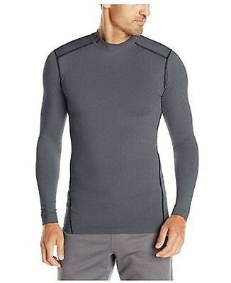 NEW Under Armour Men's ColdGear Armour Compression Long Sleeve Mock Shirt LARGE