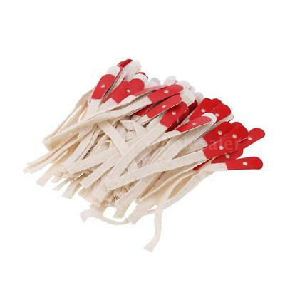 90pcs Piano Bridle Straps Standard Style Action Repair Tools G2A3