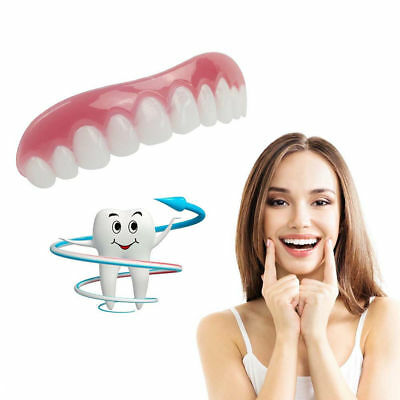 Instant Perfect Smile Comfort Flex Teeth Top Cosmetic Veneer One Size Fits All
