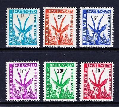 Upper Volta 1962 Postage Due Stamps - Antelope - MNH set - (132)