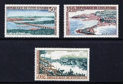 Ivory Coast 1963 Airmail - Local Landscapes - MNH set - Cat £9.50 - (119)