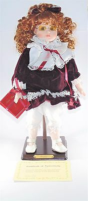 "Vintage Collector's Choice Limited Edition Genuine Porcelain 17"" Doll Prudence"