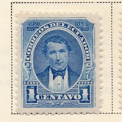 Ecuador 1895 Early Issue Fine Mint Hinged 1c. 170199