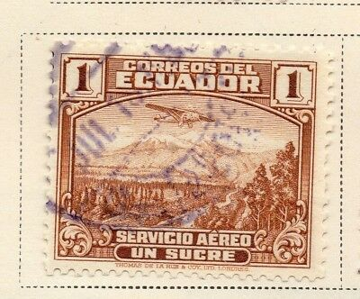 Ecuador 1938-39 Early Issue Fine Used 1S. 170348