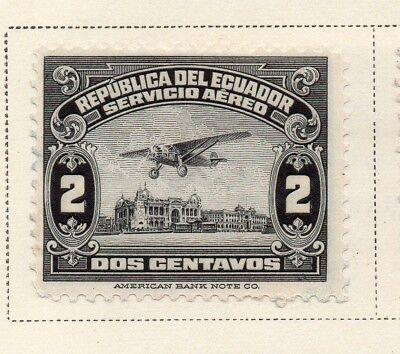 Ecuador 1929 Early Issue Fine Mint Hinged 2c. 170362