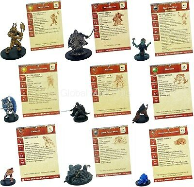 Dungeons & Dragons Night Below Miniatures Figurines Game Wizards of the Coast