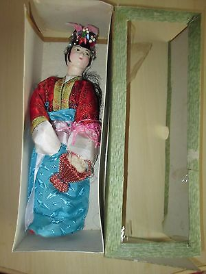 "Vintage Chinese Doll No. 171 12""  by Tripod Trademark"