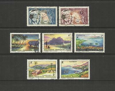 French Polynesia ~ 1964 Tahitian Dancers & Landscape Definitives