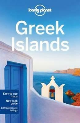 NEW Greek Islands By Lonely Planet Travel Guide Paperback Free Shipping