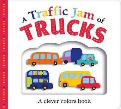 NEW A Traffic Jam of Trucks By Roger Priddy Board Book Free Shipping