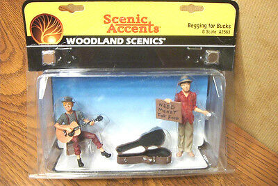 Woodland Scenics Begging For Bucks G Scale Figures