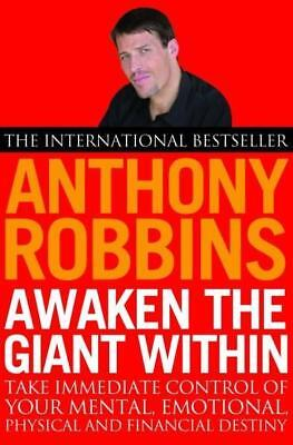 NEW Awaken The Giant Within By Anthony Robbins Paperback Free Shipping
