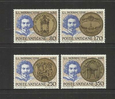 VATICAN CITY ~ 1980 BERNINI 300th DEATH ANNIVERSARY (MINT MH)