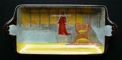 "Royal Doulton Series Ware ""Shakespeare characters Wolsey"" Sandwich Tray"