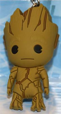 MARVEL GUARDIANS OF THE GALAXY 3-D Figural KEY CHAIN/KEY RING GROOT