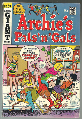 ARCHIE'S PALS n GALS, GIANT, COMIC BOOK,  # 53,  AUG, ( 1969 )