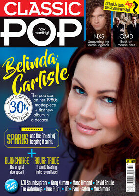 Classic Pop Magazine September 2017 (Belinda Carlisle, Sparks, Inxs, Omd) New