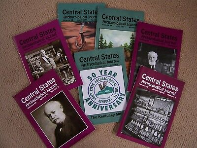 7 Journal Publications Of The Central States Archaeological Society