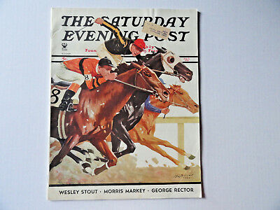 Saturday Evening Post Magazine August 4 1934 Complete