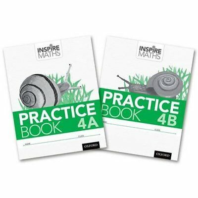 Inspire Maths: Practice Book 4 AB (Mixed Pack) - Unknown Binding NEW Fong Ho Khe