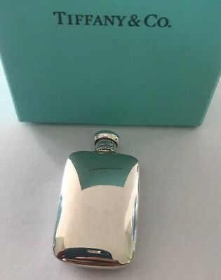 Vintage Tiffany & Co Perfume Bottle 925 Sterling Silver Refillable